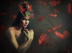 © Adela Rusu, RED RAIN