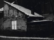 © Branislav Strugar, U zimskoj noci osvetljen prozor, 1974