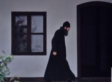 © Branislav Strugar, Kaludjer u studenici, 1997