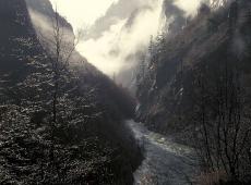 © Branislav Strugar, Oblak u kanjonu, 1994.