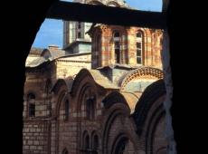 14 Hilandar, pogled na katolikon, 1996