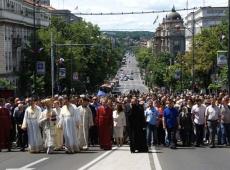 53 Beogradska litija Spasovdan, 2014