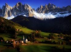 Kerekes István, Alpen tale