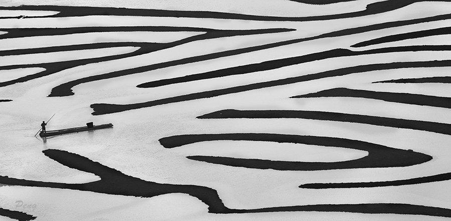 © Jiongxin Peng, Beach-Maze