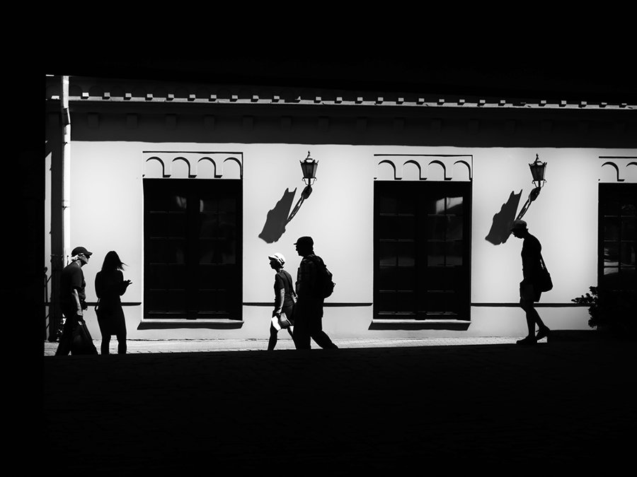 © Normante Ribokaite, Passers by 18
