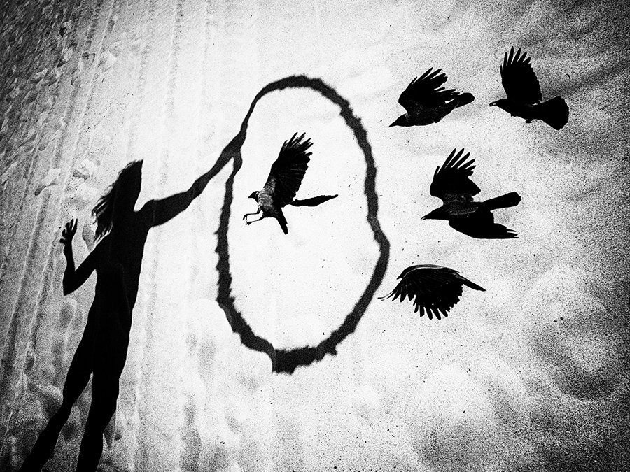 © Normante Ribokaite, Dance with Crows 1