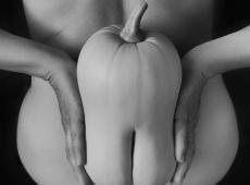 © Normante Ribokaite, Woman with Pumpkin 181
