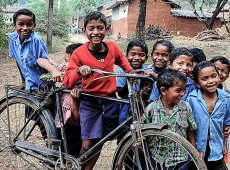© Sanjoy Bhattacharya, CHILDHOOD-JOY
